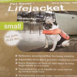New Pet Saver Lifejacket Small 15-25lbs POOCH NEED